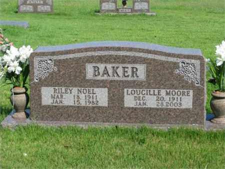 BAKER, LOUCILLE - Searcy County, Arkansas | LOUCILLE BAKER - Arkansas Gravestone Photos