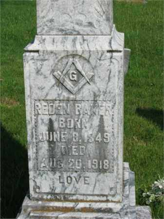 BAKER, REDEN - Searcy County, Arkansas | REDEN BAKER - Arkansas Gravestone Photos