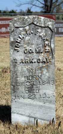 BAKER (VETERAN UNION), JOHN R - Searcy County, Arkansas | JOHN R BAKER (VETERAN UNION) - Arkansas Gravestone Photos