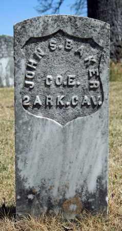 BAKER (VETERAN UNION), JOHN S - Searcy County, Arkansas | JOHN S BAKER (VETERAN UNION) - Arkansas Gravestone Photos