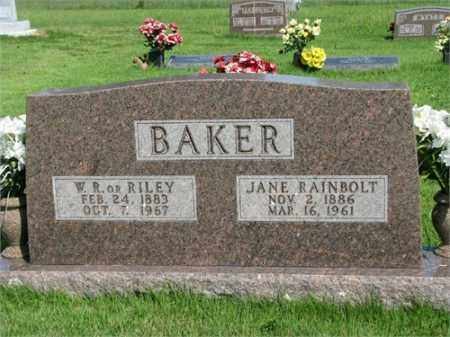 BAKER, JANE - Searcy County, Arkansas | JANE BAKER - Arkansas Gravestone Photos