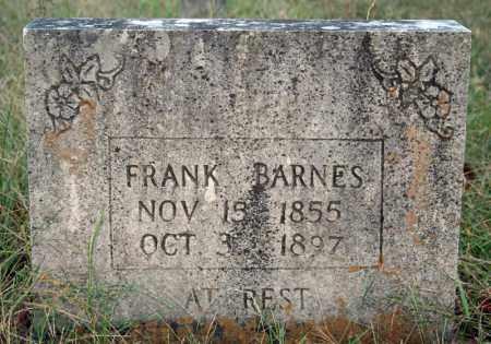 BARNES, FRANK - Searcy County, Arkansas | FRANK BARNES - Arkansas Gravestone Photos