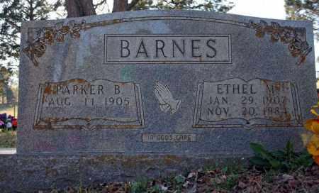 BARNES, PARKER B. - Searcy County, Arkansas | PARKER B. BARNES - Arkansas Gravestone Photos