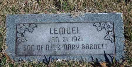 BARNETT, LEMUEL - Searcy County, Arkansas | LEMUEL BARNETT - Arkansas Gravestone Photos