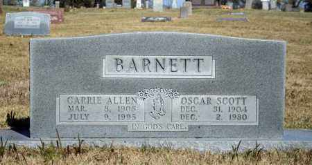 BARNETT, OSCAR SCOTT - Searcy County, Arkansas | OSCAR SCOTT BARNETT - Arkansas Gravestone Photos