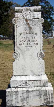 BARNETT, WILLIAM H. - Searcy County, Arkansas   WILLIAM H. BARNETT - Arkansas Gravestone Photos
