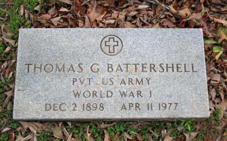 BATTERSHELL (VETERAN WWI), THOMAS G - Searcy County, Arkansas | THOMAS G BATTERSHELL (VETERAN WWI) - Arkansas Gravestone Photos