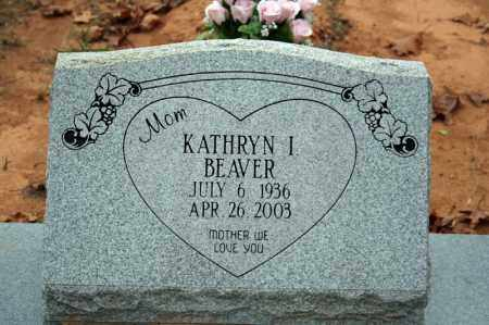 BEAVER, KATHRYN I. - Searcy County, Arkansas | KATHRYN I. BEAVER - Arkansas Gravestone Photos