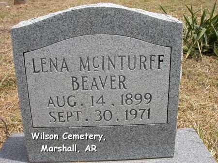 BEAVER, LENA GLADYS - Searcy County, Arkansas | LENA GLADYS BEAVER - Arkansas Gravestone Photos