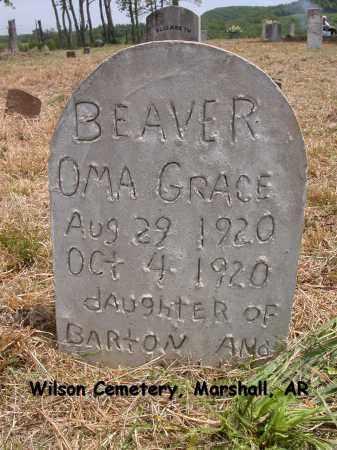 BEAVER, OMA GRACE - Searcy County, Arkansas | OMA GRACE BEAVER - Arkansas Gravestone Photos