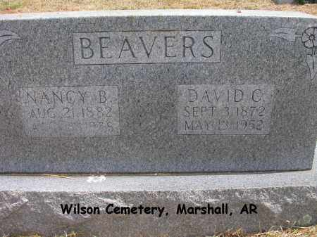 BEAVERS, NANCY ISABELLE - Searcy County, Arkansas | NANCY ISABELLE BEAVERS - Arkansas Gravestone Photos