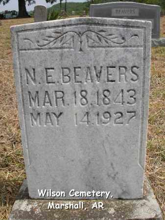 BARNES BEAVERS, NANCY ELLEN - Searcy County, Arkansas | NANCY ELLEN BARNES BEAVERS - Arkansas Gravestone Photos