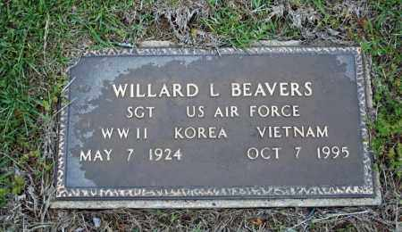 BEAVERS (VETERAN 3 WARS), WILLARD L - Searcy County, Arkansas | WILLARD L BEAVERS (VETERAN 3 WARS) - Arkansas Gravestone Photos