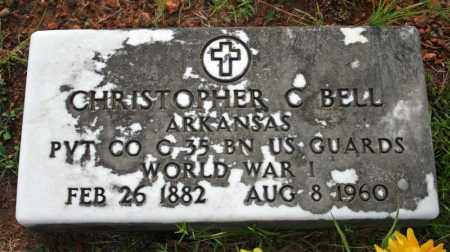 BELL  (VETERAN WWI), CHRISTOPHER C - Searcy County, Arkansas | CHRISTOPHER C BELL  (VETERAN WWI) - Arkansas Gravestone Photos