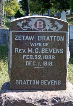 BEVENS, ZETAW - Searcy County, Arkansas | ZETAW BEVENS - Arkansas Gravestone Photos