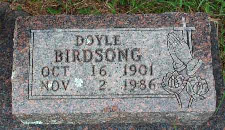 BIRDSONG, DOYLE WILLIAM - Searcy County, Arkansas | DOYLE WILLIAM BIRDSONG - Arkansas Gravestone Photos
