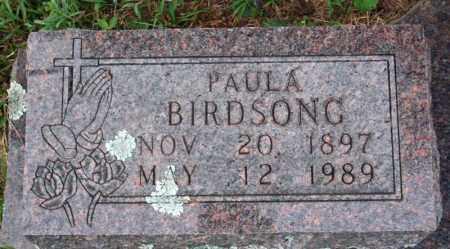BIRDSONG, PAULA STIGEYMER - Searcy County, Arkansas | PAULA STIGEYMER BIRDSONG - Arkansas Gravestone Photos
