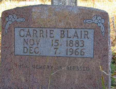 BLAIR, CARRIE - Searcy County, Arkansas | CARRIE BLAIR - Arkansas Gravestone Photos