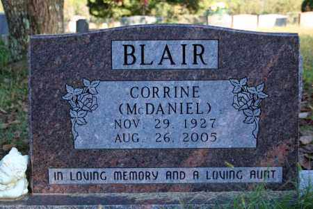 MCDANIEL BLAIR, CORRINE - Searcy County, Arkansas | CORRINE MCDANIEL BLAIR - Arkansas Gravestone Photos