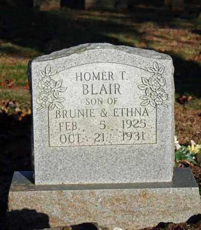 BLAIR, HOMER T. - Searcy County, Arkansas   HOMER T. BLAIR - Arkansas Gravestone Photos