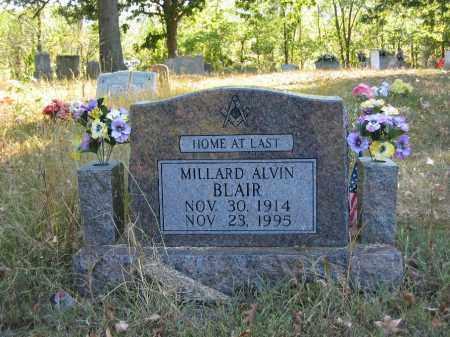 BLAIR, MILLARD ALVIN - Searcy County, Arkansas   MILLARD ALVIN BLAIR - Arkansas Gravestone Photos