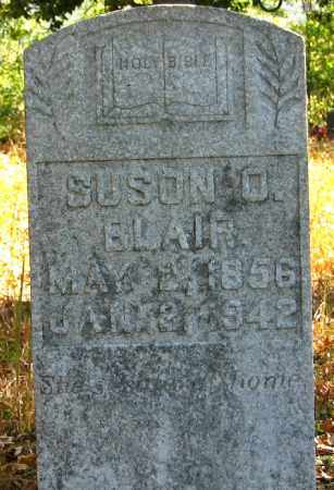 DANIEL BLAIR, SUSAN OCTAVIA - Searcy County, Arkansas | SUSAN OCTAVIA DANIEL BLAIR - Arkansas Gravestone Photos