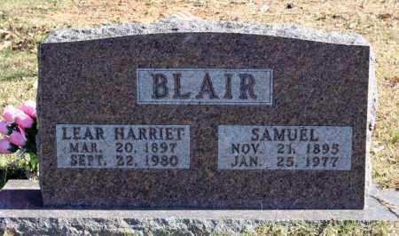 BLAIR, LEAR HARRIET - Searcy County, Arkansas | LEAR HARRIET BLAIR - Arkansas Gravestone Photos