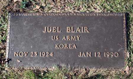 BLAIR (VETERAN KOR), JUEL - Searcy County, Arkansas | JUEL BLAIR (VETERAN KOR) - Arkansas Gravestone Photos