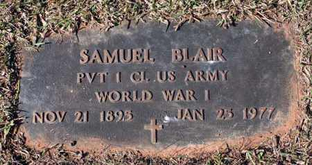 BLAIR (VETERAN WWI), SAMUEL - Searcy County, Arkansas | SAMUEL BLAIR (VETERAN WWI) - Arkansas Gravestone Photos