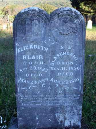 BLAIR, ELIZABETH - Searcy County, Arkansas | ELIZABETH BLAIR - Arkansas Gravestone Photos