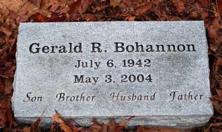 BOHANNON, GERALD R. - Searcy County, Arkansas | GERALD R. BOHANNON - Arkansas Gravestone Photos