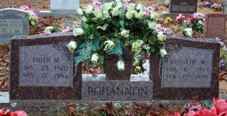 MATHIS BOHANNON, EDITH M. - Searcy County, Arkansas   EDITH M. MATHIS BOHANNON - Arkansas Gravestone Photos