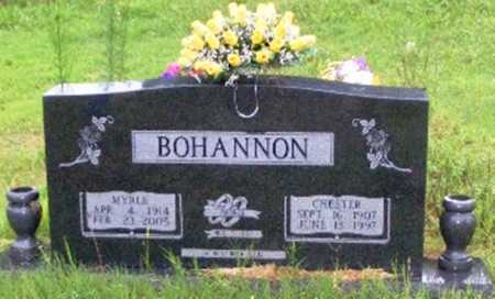 BOHANNON, MYRLE M. - Searcy County, Arkansas | MYRLE M. BOHANNON - Arkansas Gravestone Photos
