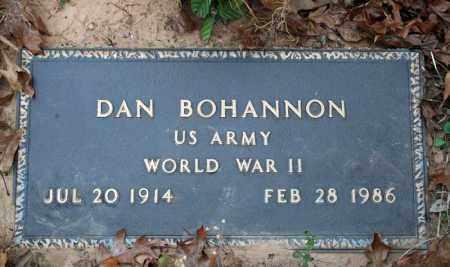 BOHANNON (VETERAN WWII), DAN - Searcy County, Arkansas   DAN BOHANNON (VETERAN WWII) - Arkansas Gravestone Photos