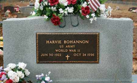 BOHANNON (VETERAN WWII), HARVIE - Searcy County, Arkansas | HARVIE BOHANNON (VETERAN WWII) - Arkansas Gravestone Photos