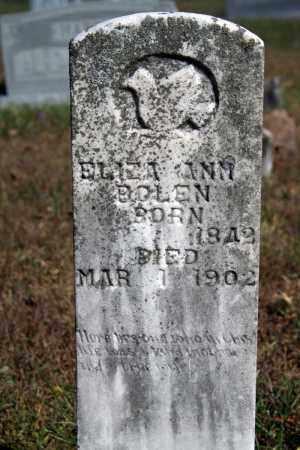 BOLEN, ELIZA ANN - Searcy County, Arkansas   ELIZA ANN BOLEN - Arkansas Gravestone Photos