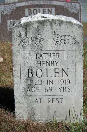 BOLEN, HENRY - Searcy County, Arkansas | HENRY BOLEN - Arkansas Gravestone Photos