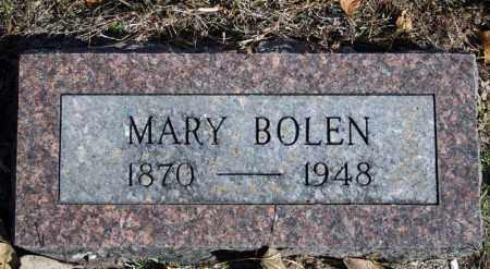 BOLEN, MARY - Searcy County, Arkansas   MARY BOLEN - Arkansas Gravestone Photos