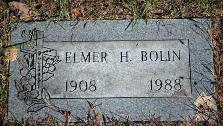 BOLIN, ELMER H. - Searcy County, Arkansas | ELMER H. BOLIN - Arkansas Gravestone Photos