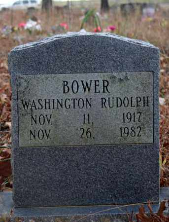 BOWER, WASHINGTON RUDOLPH - Searcy County, Arkansas | WASHINGTON RUDOLPH BOWER - Arkansas Gravestone Photos