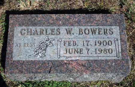 BOWERS, CHARLES W. - Searcy County, Arkansas | CHARLES W. BOWERS - Arkansas Gravestone Photos