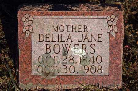 BOWERS, DELILA JANE - Searcy County, Arkansas | DELILA JANE BOWERS - Arkansas Gravestone Photos