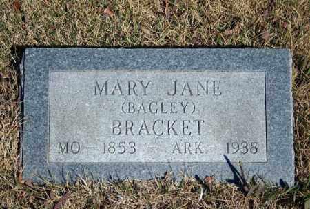 BRACKET, MARY JANE - Searcy County, Arkansas | MARY JANE BRACKET - Arkansas Gravestone Photos
