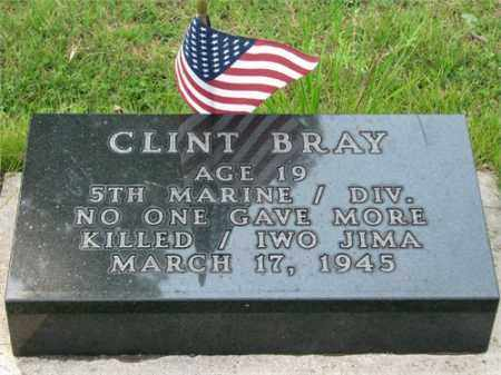 BRAY (VETERAN WWII), CLINTON - Searcy County, Arkansas | CLINTON BRAY (VETERAN WWII) - Arkansas Gravestone Photos