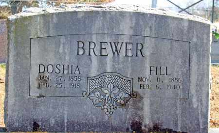 BREWER, DOSHIA - Searcy County, Arkansas | DOSHIA BREWER - Arkansas Gravestone Photos