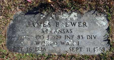 BREWER (VETERAN WWI), JAMES - Searcy County, Arkansas | JAMES BREWER (VETERAN WWI) - Arkansas Gravestone Photos