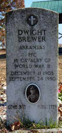 BREWER (VETERAN WWII), DWIGHT - Searcy County, Arkansas | DWIGHT BREWER (VETERAN WWII) - Arkansas Gravestone Photos