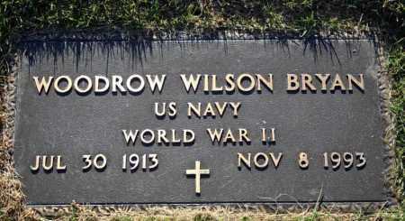 BRYAN (VETERAN WWII), WOODROW WILSON - Searcy County, Arkansas | WOODROW WILSON BRYAN (VETERAN WWII) - Arkansas Gravestone Photos