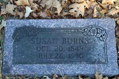 BURNS, SUSAN - Searcy County, Arkansas | SUSAN BURNS - Arkansas Gravestone Photos