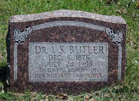 BUTLER, I.S. - Searcy County, Arkansas | I.S. BUTLER - Arkansas Gravestone Photos
